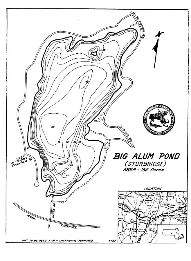 Big Alum Pond Map