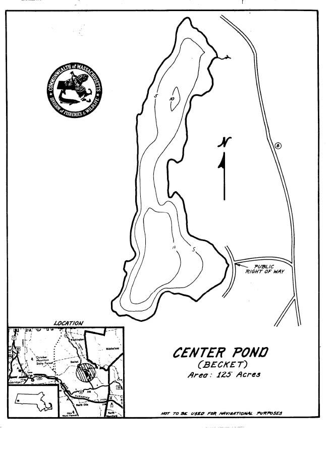 Center Pond Map