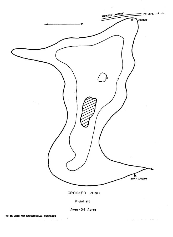 Crooked Pond Map