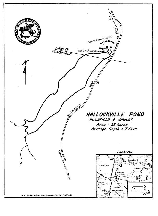 Hallockville Pond Map