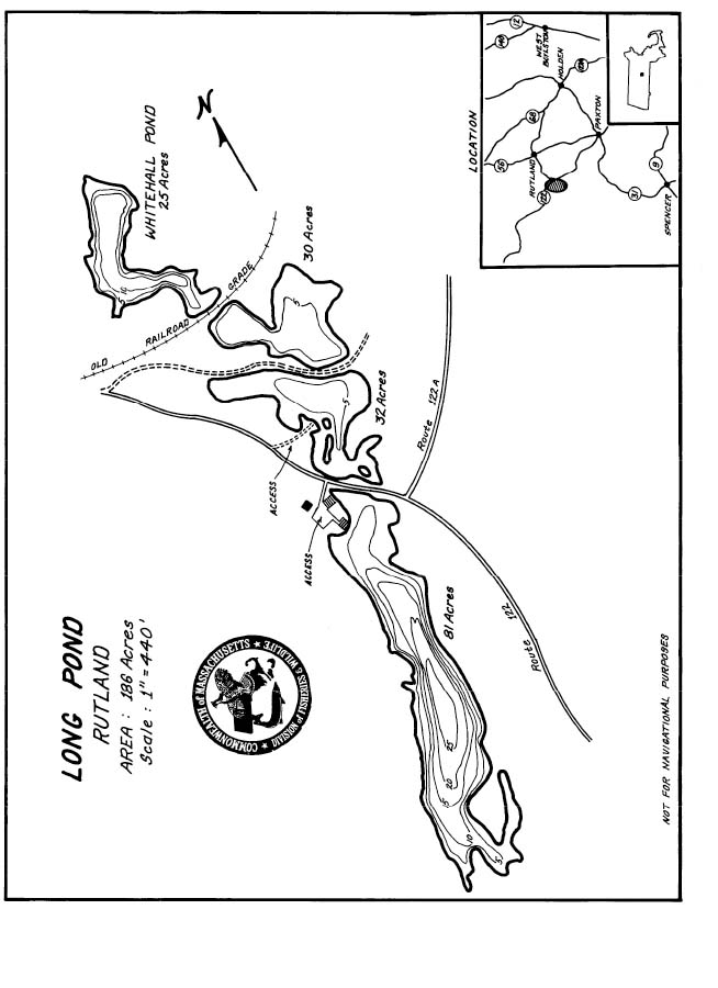 Long Pond Map