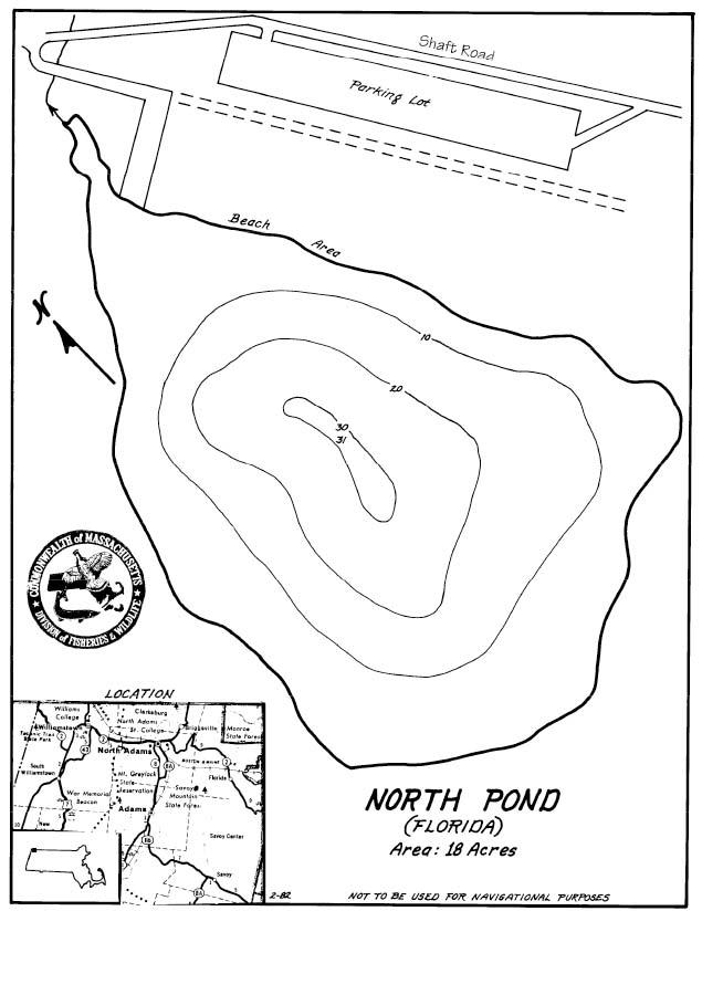 North Pond Map