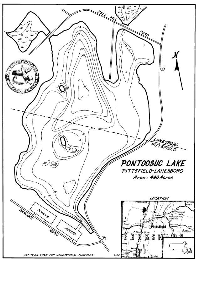 Pontoosuc Lake Map