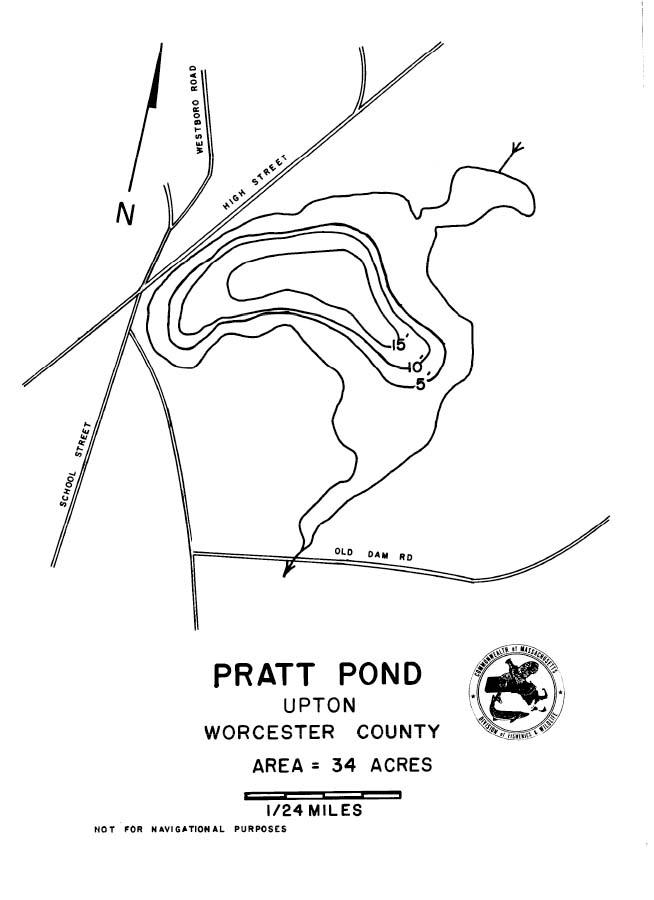 Pratt Pond Map