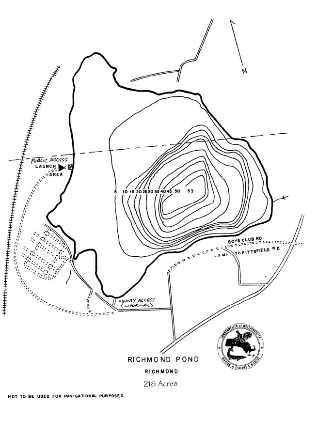 Richmond Pond Map