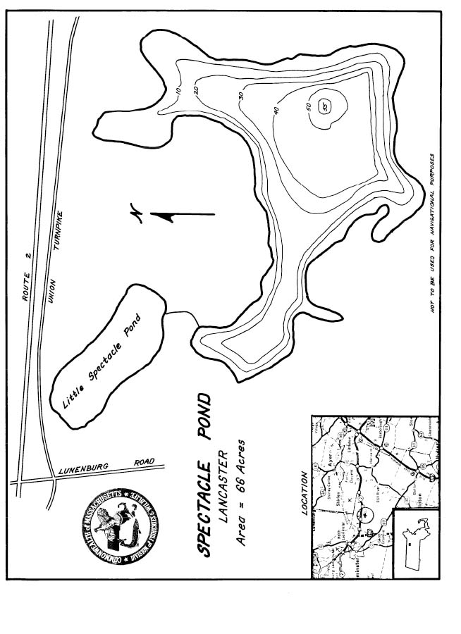 Spectacle Pond Map
