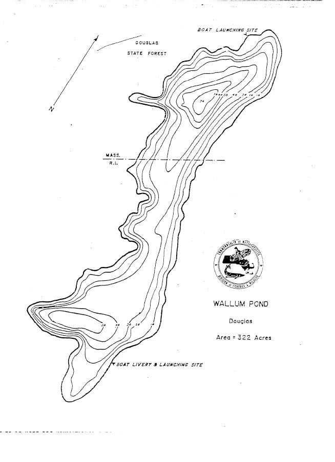 Wallum Pond Map
