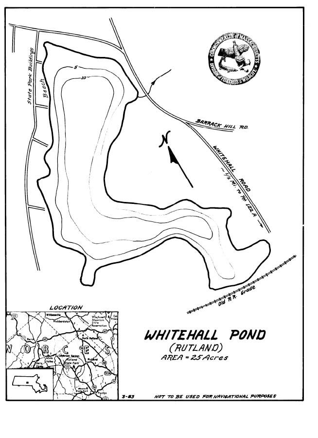 Whitehall Pond Map