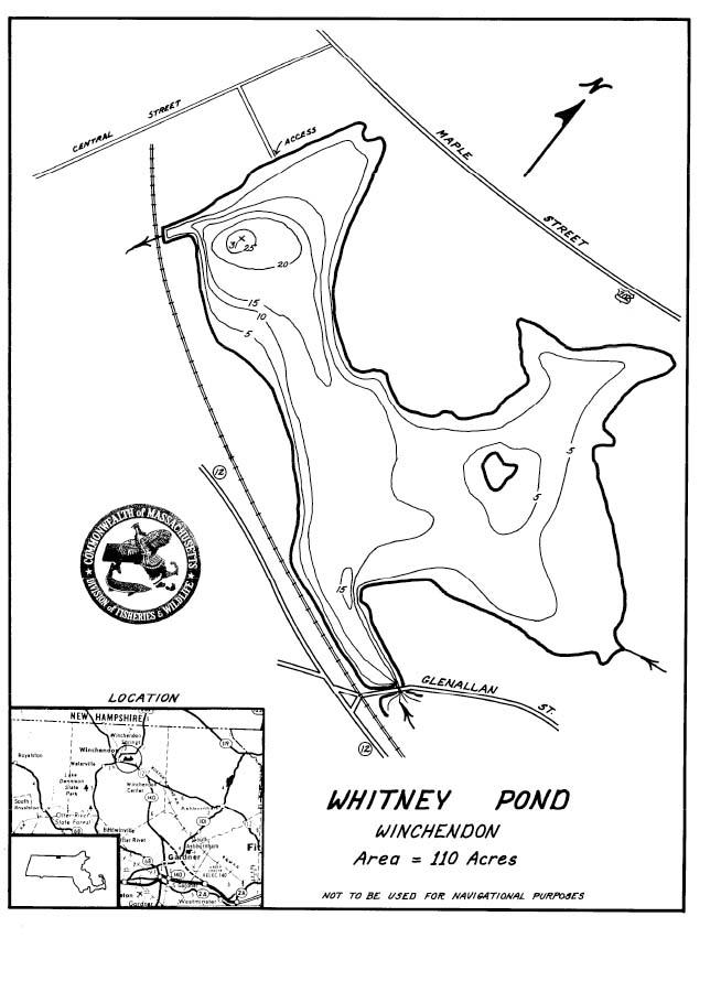 Whitney Pond Map