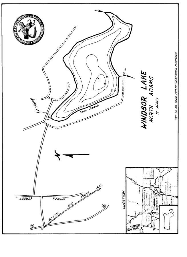 Windsor Lake Map