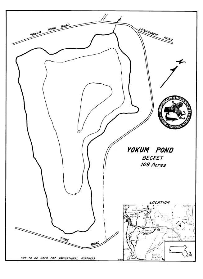 Yokum Pond Map